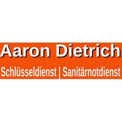 Logo aaron dietrich schlüsseldienst